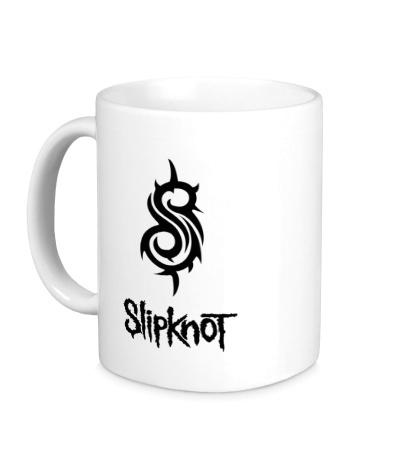 Керамическая кружка Slipknot Logo