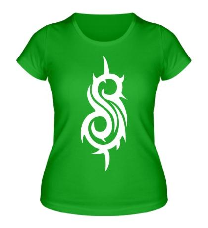 Женская футболка Slipknot Symbol