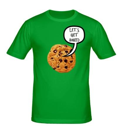 Мужская футболка Lets Get Baked