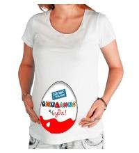 Футболка для беременной В ожидание чуда