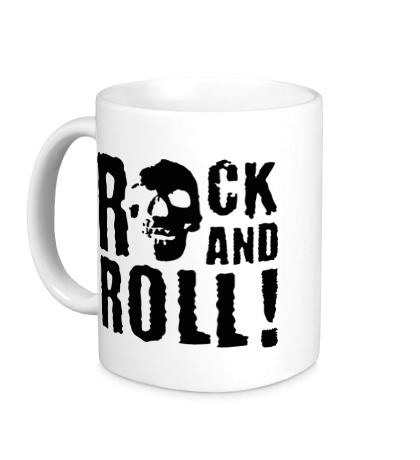 Керамическая кружка Rock and roll