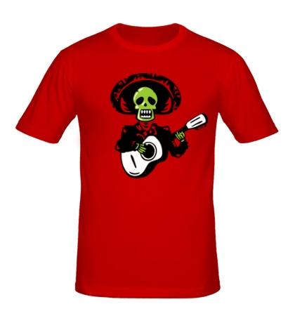 Мужская футболка Мертвый музыкант