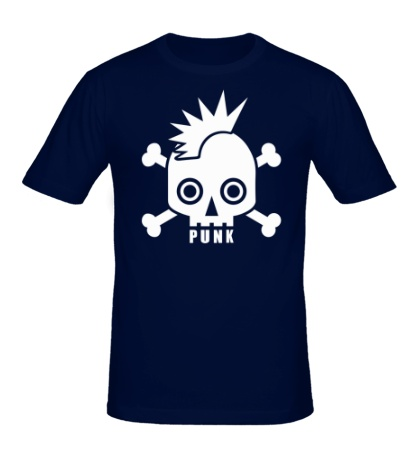 Мужская футболка Punk Skull