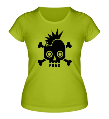 Женская футболка Punk Skull