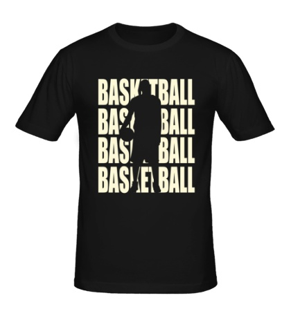 Мужская футболка Basketball Glow