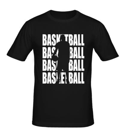 Мужская футболка Basketball