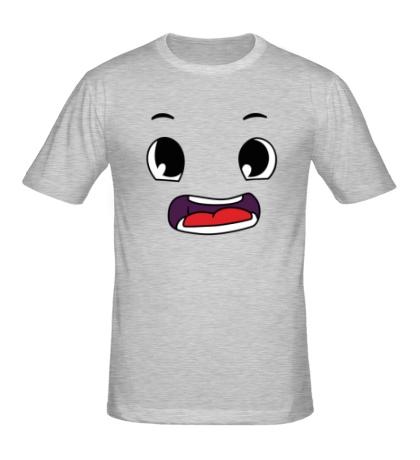 Мужская футболка Эмоция аниме