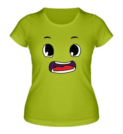 Женская футболка Эмоция аниме