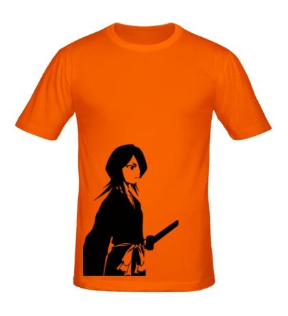 Мужская футболка Девушка воин