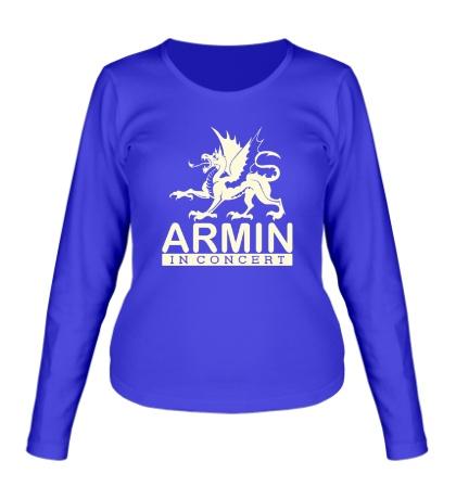 Женский лонгслив Armin in Concert Glow