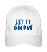 Бейсболка Let it snow