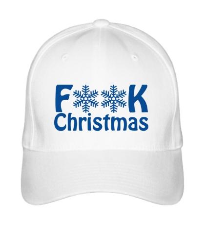 Бейсболка Fuck Christmas
