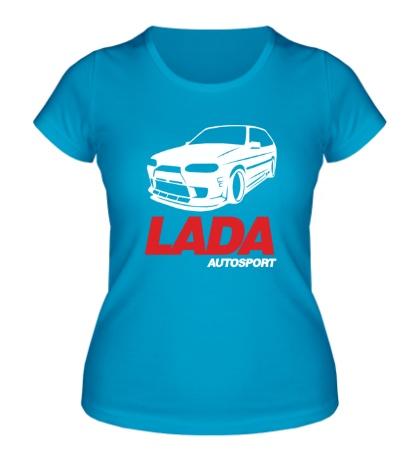 Женская футболка Lada autosport