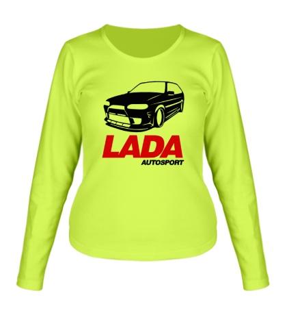 Женский лонгслив Lada autosport