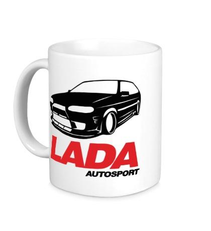 Керамическая кружка Lada autosport