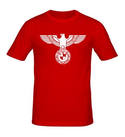Мужская футболка Орел со знаком БМВ