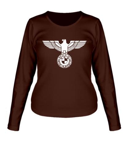 Женский лонгслив Орел со знаком БМВ