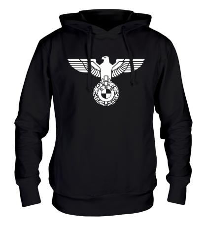 Толстовка с капюшоном Орел со знаком БМВ