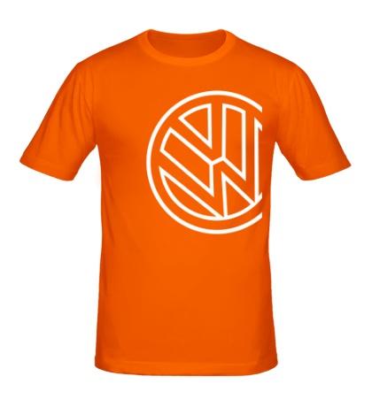 Мужская футболка Значок Фольксваген
