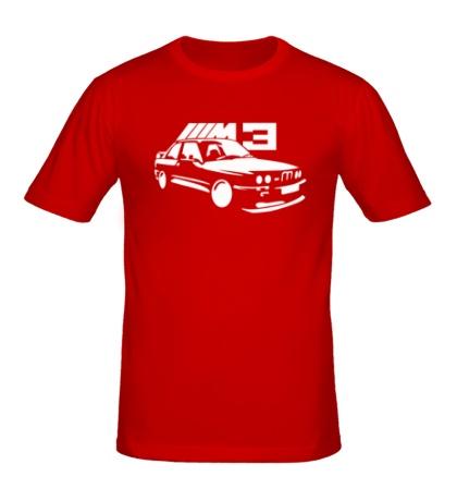 Мужская футболка BMW M3
