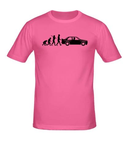 Мужская футболка БМВ эволюция