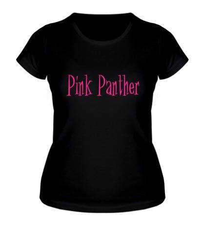 Женская футболка Pink Panther