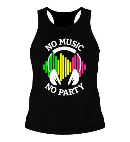 Мужская борцовка No music, no party