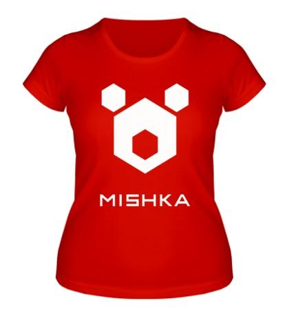 Женская футболка Mishka