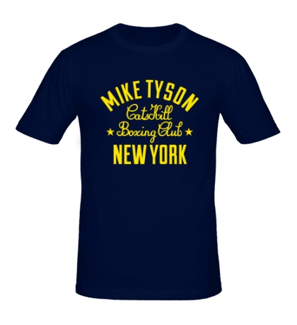 Мужская футболка Mike Tyson Boxing Club