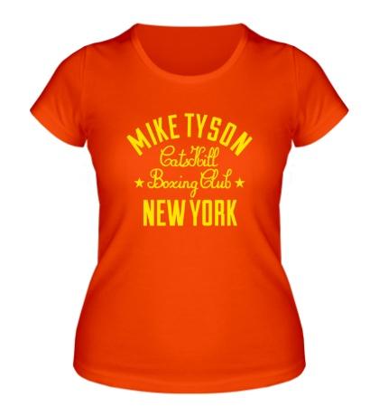 Женская футболка Mike Tyson Boxing Club
