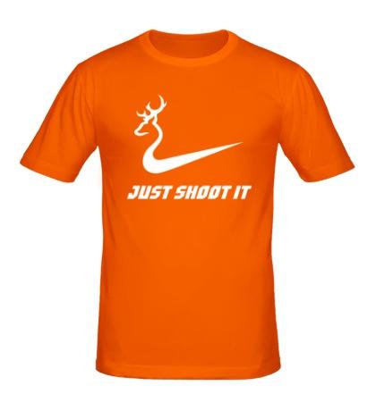 Мужская футболка Just shoot it