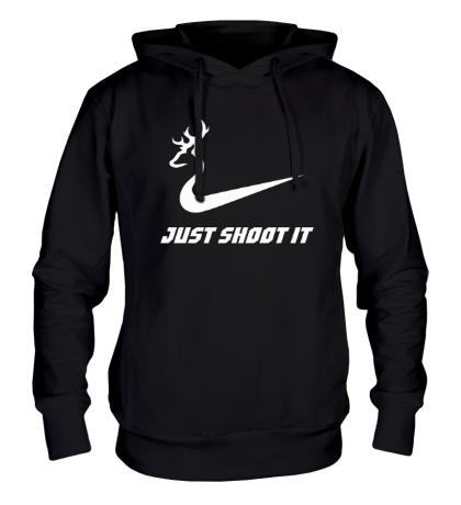 Толстовка с капюшоном Just shoot it