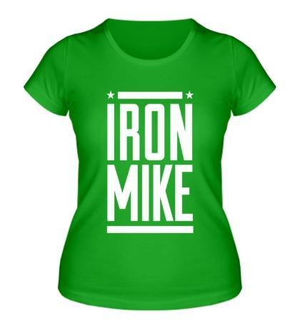 Женская футболка Iron Mike