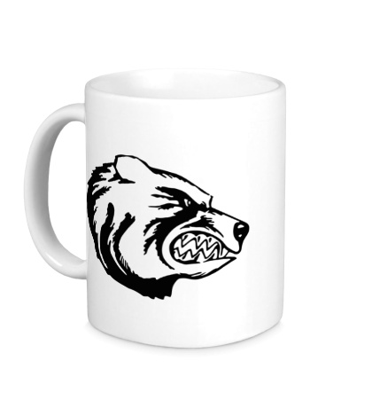 Керамическая кружка Медведь
