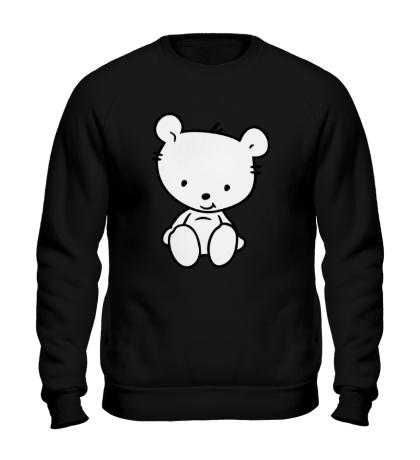 Свитшот Белый медвежонок