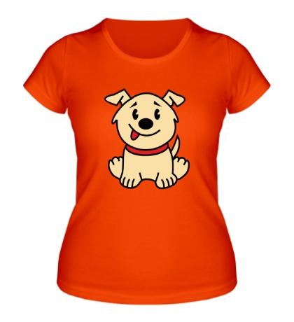 Женская футболка Верный пес
