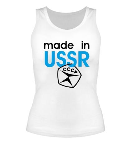 Женская майка USSR Stamp