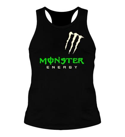 Мужская борцовка «Monster energy shoulder glow»