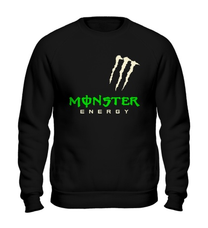 Свитшот Monster energy shoulder glow