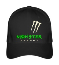 Бейсболка Monster energy shoulder glow