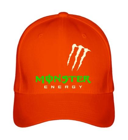 Бейсболка Monster energy shoulder glow