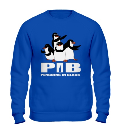 Свитшот PIB Penguins in black