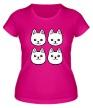 Женская футболка «Песики» - Фото 1