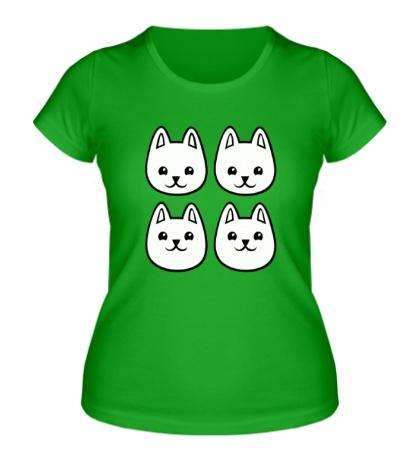 Женская футболка «Песики»