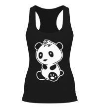 Женская борцовка Маленькая панда