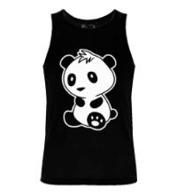 Мужская майка Маленькая панда