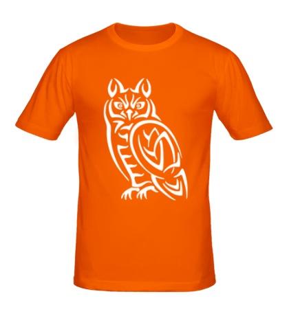 Мужская футболка Кельтская сова