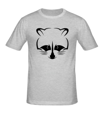 Мужская футболка Хитрый енот