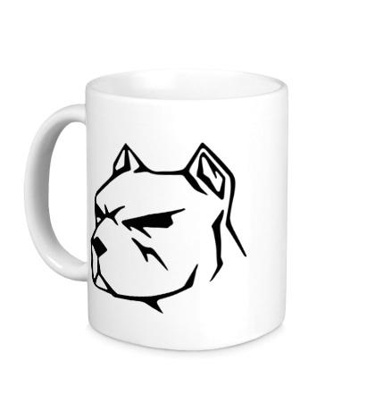 Керамическая кружка Пёс