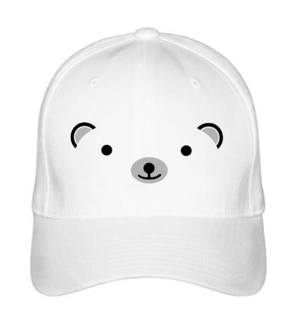 Бейсболка Мордашка медвежонка